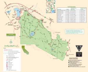 Annadel State Park Map Trione Annadel State Park | Sonoma Hiking Trails Annadel State Park Map