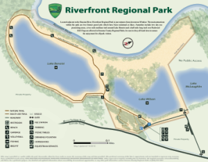 Official Riverfront Regional Park map