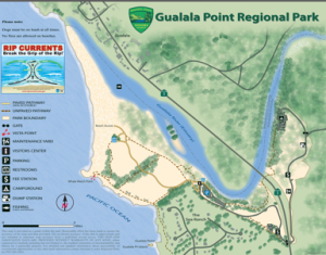 Gualala Point Regional Park Map