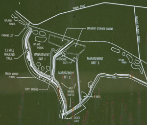 Hudeman Slough Wetlands - map